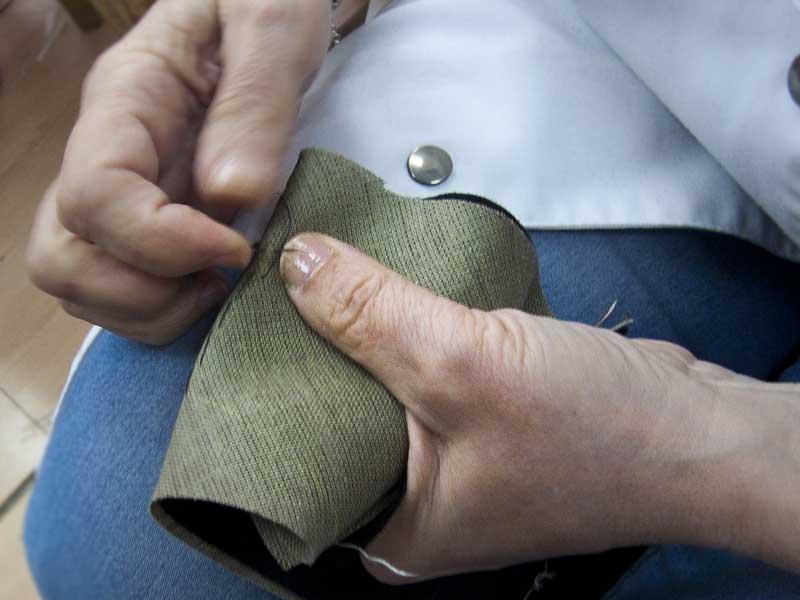 Costura artesanal